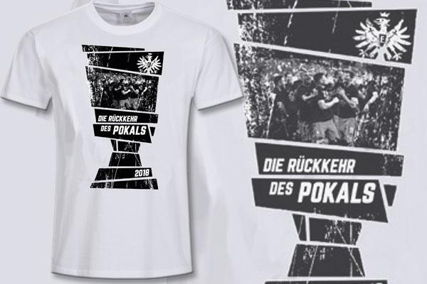 Pokalsieger Shirt 2018 Der Frankfurter Eintracht Im Fan Point Kassel